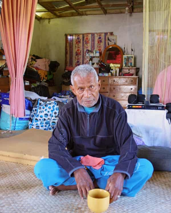 Hemo Marvela - chair of the committee that manages Navakavu reef off Fiji's largest island Viti Levu.