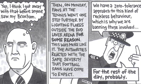 David Squires on ... fan behaviour at the Sydney derby