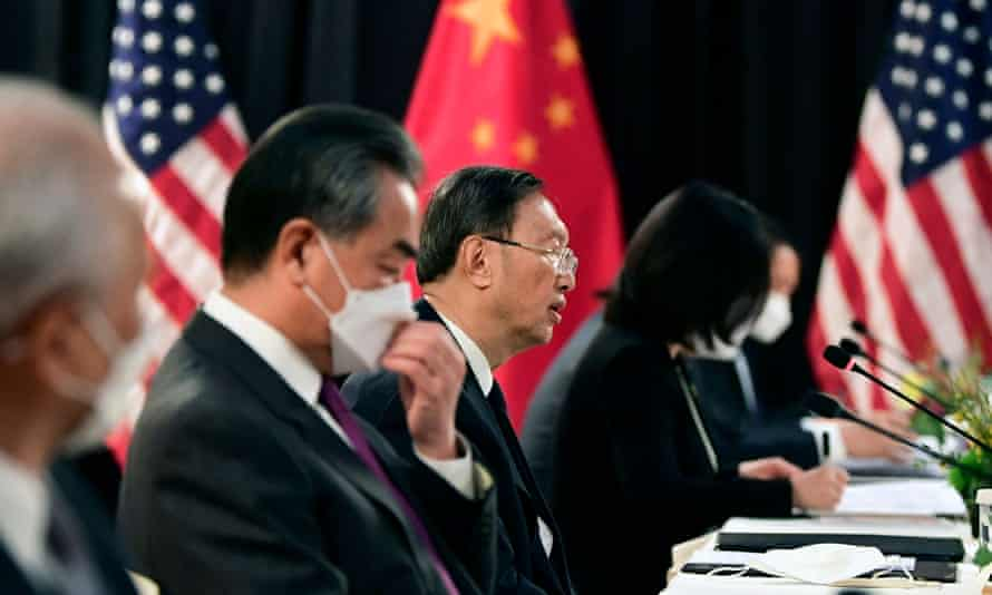 Chinese delegation led by Yang Jiechi