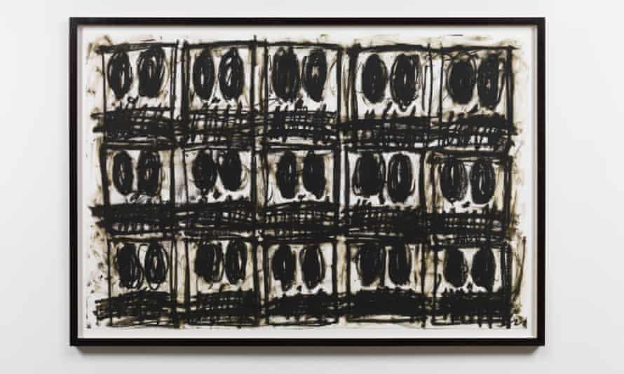 Rashid Johnson's Untitled Anxious Drawing