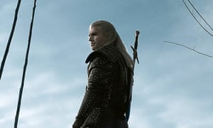 Henry Cavill in Netflix's upcoming fantasy series The Witcher, adapted from the books by Andrzej Sapkowski and the video game of the same name