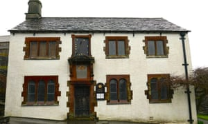 Wordsworth's grammar school in Hawkshead