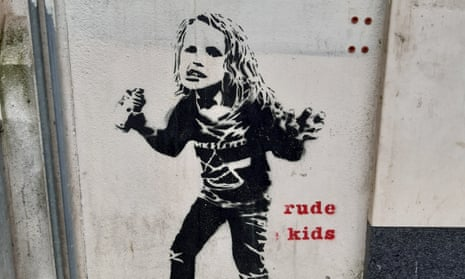 Part of the Rude Kids series in Liverpool by Dotmaster.