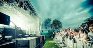 """""""Weather is always a major worry when starting a festival."""""""