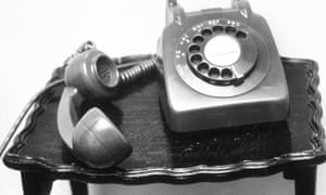 Old phone from the 1960s