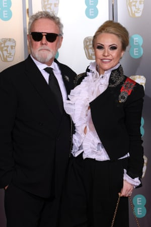 Roger Taylor and Sarina Potgieter were ready to rock you.