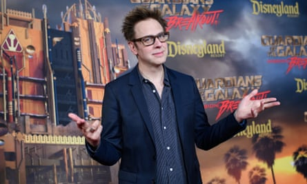 James Gunn. The Guardians franchise has made over $1.6bn worldwide to date.