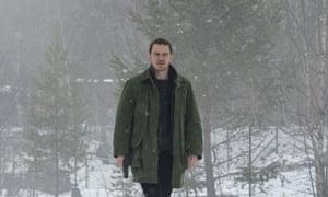 Michael Fassbender as Harry Hole in The Snowman, a film adaptation of Jo Nesbø's book.