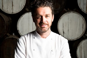 Jock Zonfrillo, the owner and chef of Orana in Adelaide, which won Gourmet Traveller's restaurant of the year