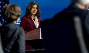 Joe Biden nominated Neera Tanden to serve as director of the Office of Management and Budget.