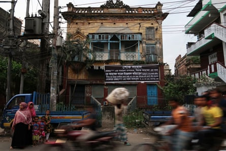 The Das family home in Dhaka, Laxmi Villa, which was exchanged with a house on the other side of the border in Kolkata.
