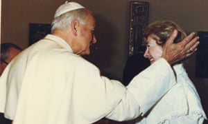 Pope John Paul II and Anna-Teresa Tymieniecka.