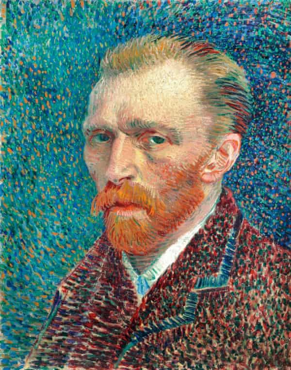 Vincent van Gogh: Self-Portrait. 1887.