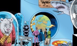 Illustration from The Tempest by Alan Moore and Kevin O'Neill.