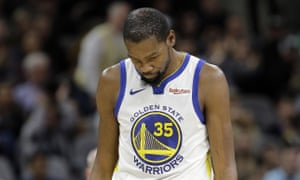 Kevin Durant's Warriors have lost four in a row, but the funk is unlikely to last