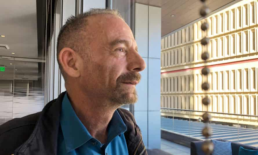 Timothy Ray Brown, pictured last year in Seattle. Brown made history as 'the Berlin patient', the first person known to be cured of HIV infection.