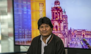 Evo Morales became the country's first indigenous president in 2006.