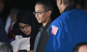 Texas student Ahmed Mohamed enjoys the second White House astronomy night on the South Lawn of the White House on Monday.