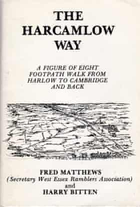 Cover of the guidebook The Harcamlow Way