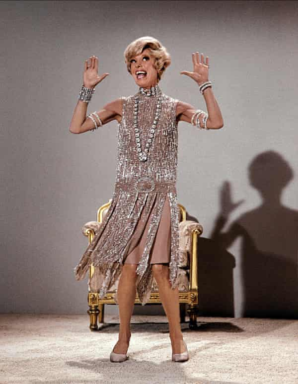 Carol Channing as Muzzy Van Hossmere in Thoroughly Modern Millie, 1967.