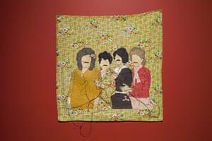 Gozde Ilkin's tapestry-style work