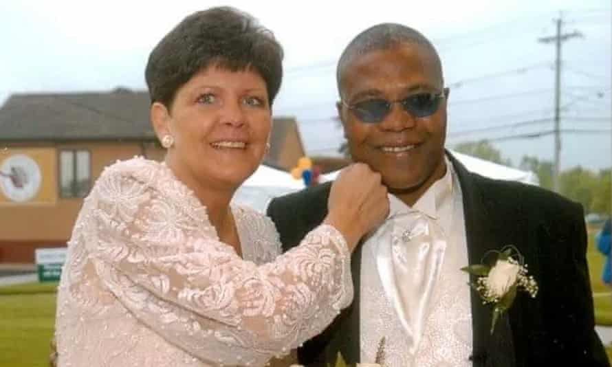 Frankie Pryor, with her husband Aaron 'The Hawk' Pryor, who died in 2016. She says boxing's authorities 'take such advantage of dedicated fighters who love their sport'.