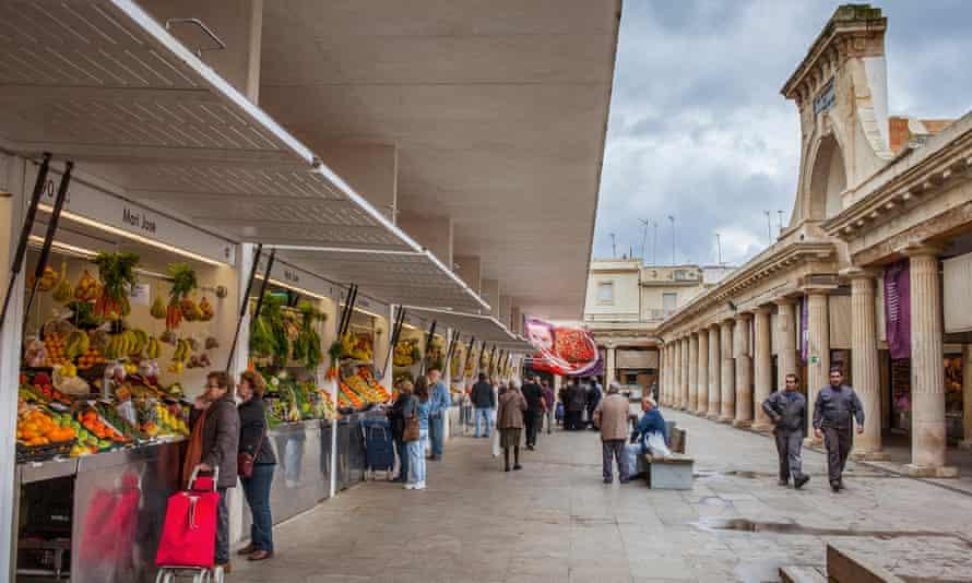 Mercado de abastos, Cadiz