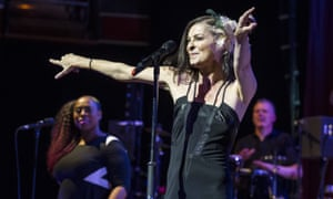 Lisa Stansfield performs on stage