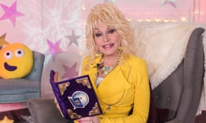 Dolly Parton on CBeebies's Bedtime Story