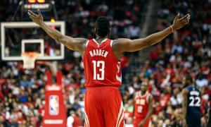 James Harden is averaging 31.6 points per game this season