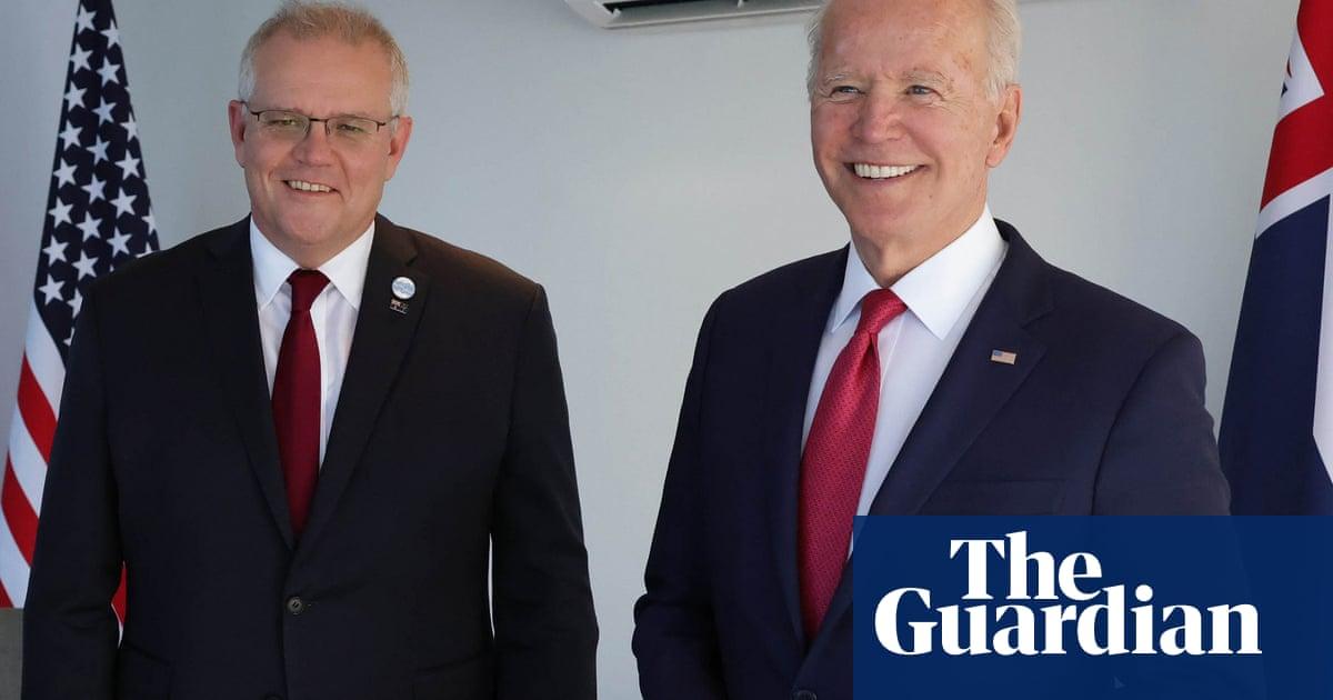 Climate change will be on agenda when Scott Morrison meets Joe Biden in the US