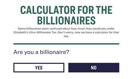 The tool. Are you a billionaire?