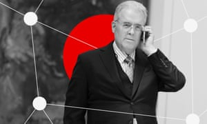 Robert Mercer, the owner of Cambridge Analytica.