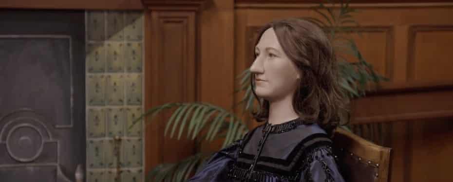 A mannequin of Eliot in Nuneaton museum.