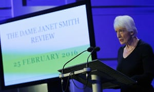 Dame Janet Smith presents her report on Jimmy Savile and sexual abuse at the BBC.