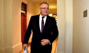 Treasurer Scott Morrison