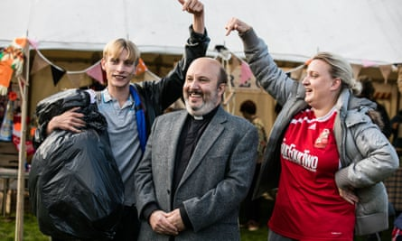 Image from the BBC comedy series This Country.