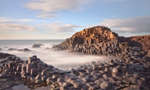 The Giant's Causeway captured in ethereal light. Northern Ireland.