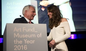 Martin Roth and the Duchess of Cambridge