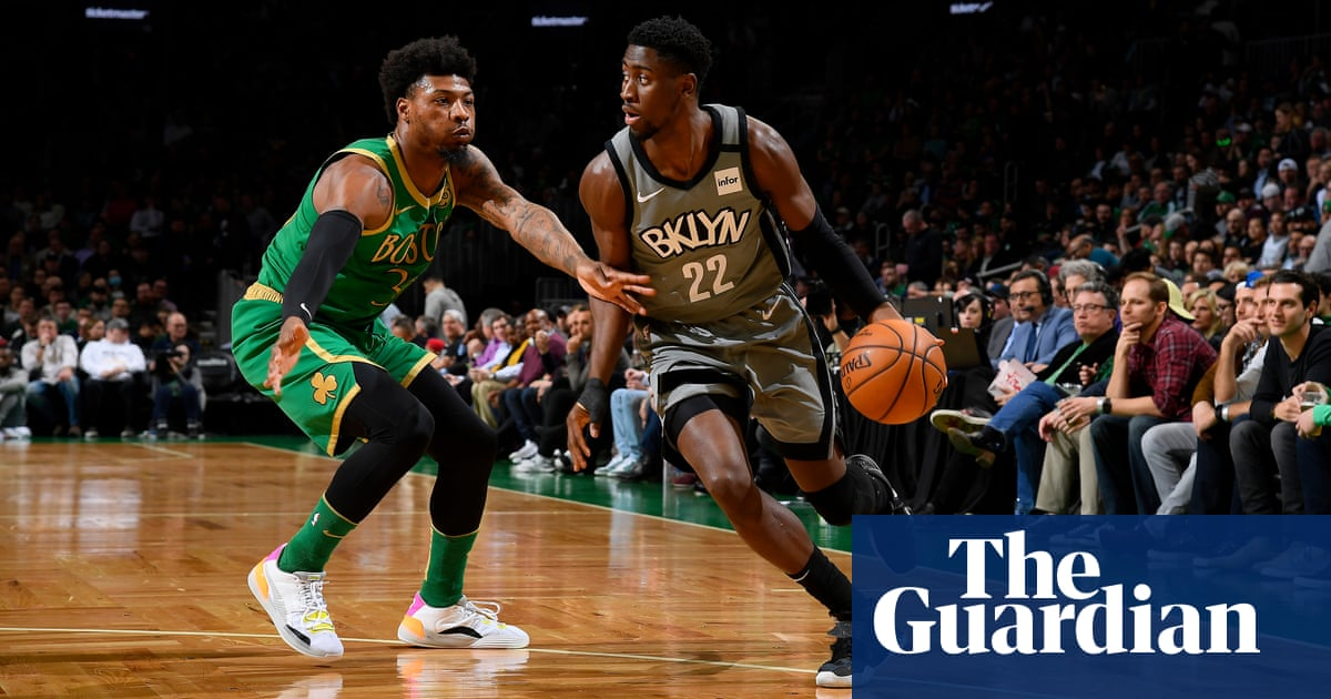 Nets Caris Levert Pours In Career High 51 Points In Overtime Win Over Celtics Nba The Guardian