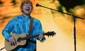 Ed Sheeran in concert in Mumbai: the NME would have had a few choice words to say about him.