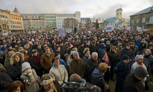 Iceland protests 2008