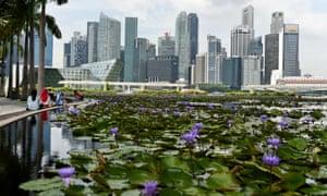Marina Bay, Singapore provides valuable public spaces.