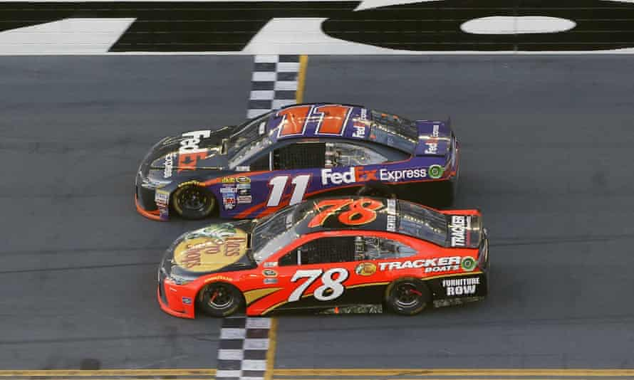 Nascar: 'it actually became what critics have long called it: just a bunch of cars going around in circles'
