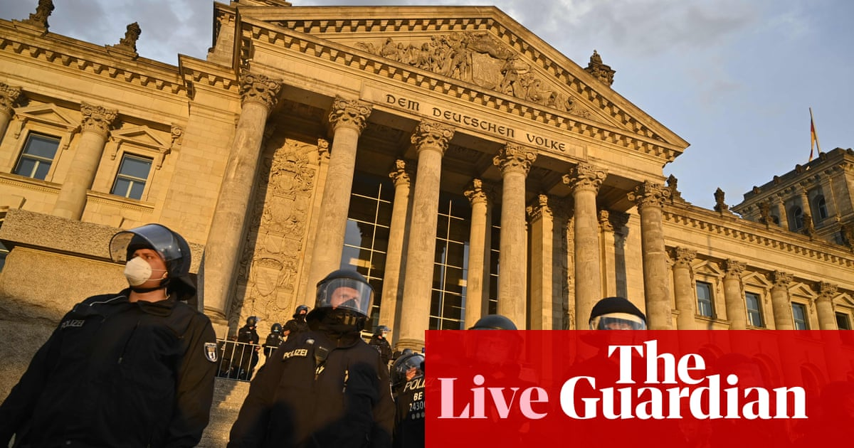 Coronavirus live news: Queensland steps up alert; protesters try to storm the Reichstag building – The Guardian