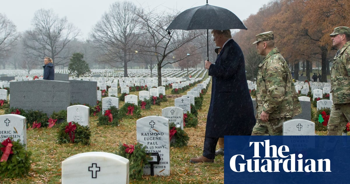 US veterans and soldiers divided over Trump calling war dead 'suckers' – The Guardian