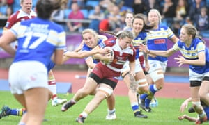 Action from the Women's Super League Grand Final.