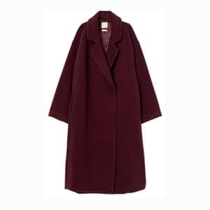 Burgundy, £99.99, hm.com.