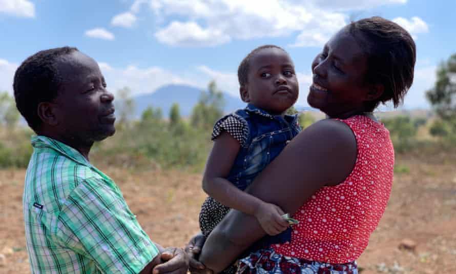 Anita Chitaya with family in Malawi.