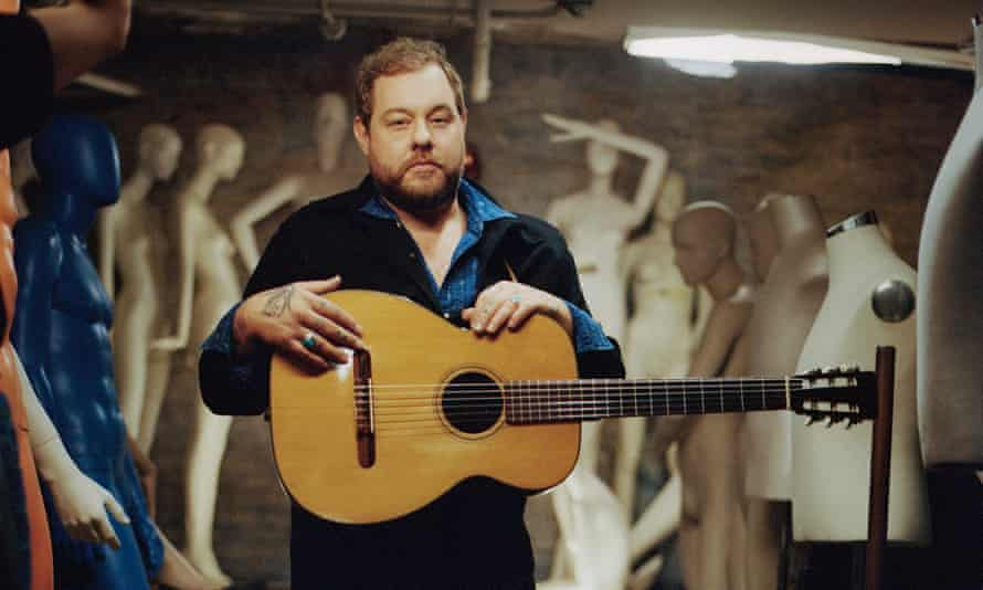 Subdued grief … Nathaniel Rateliff.